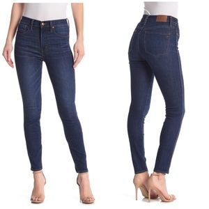 "Madewell 10"" High Rise Skinny Jeans (27)"